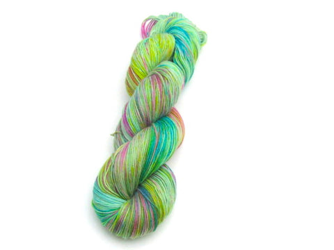 Happy Dance -- Traveler -- Superwash BFL/Nylon Fingering Weight Yarn