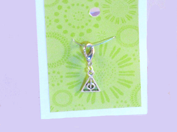 Harry Potter Deathly Hallows Triangle -- Project Keeper & Zipper Pull