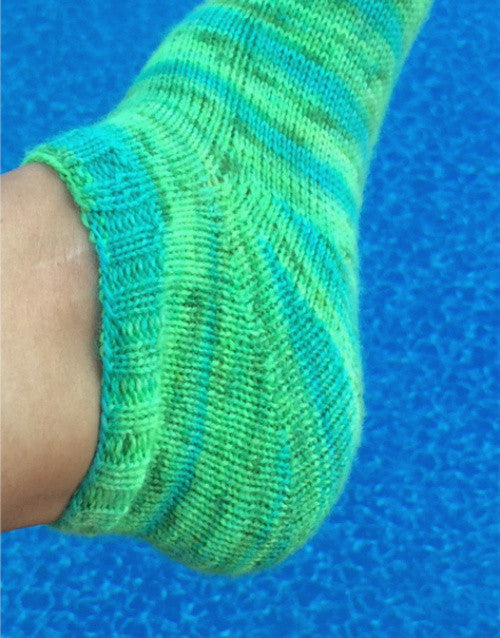 Ankle Sock Knitting Pattern : All About That Curve Ankle Socks-- Knitting Patterns -- PDF Download   Cedar ...
