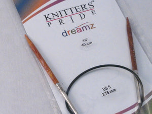 "Knitter/'s Pride Dreamz Fixed Circular Needles 16/""-Size 5//3.75mm"