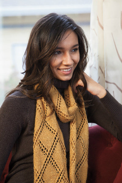 The Palazzo Scarf -- Knitting Patterns -- PDF Download