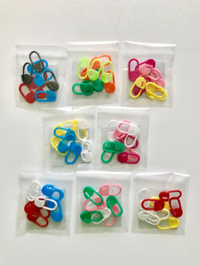 Locking Stitch Markers (9 pc) - Assorted