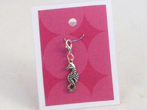 Seahorse -- Project Keeper & Zipper Pull