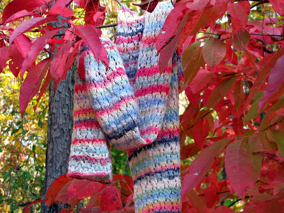 Serendipity Scarf -- Knitting Patterns -- PDF Download