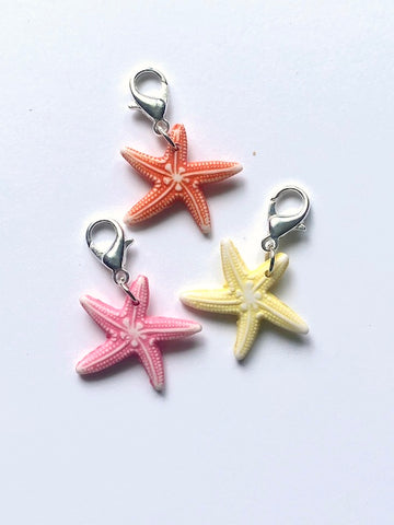 Starfish -- Project Keeper & Zipper Pull