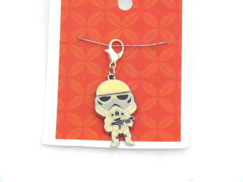 Storm Trooper (Enamel) -- Project Keeper & Zipper Pull
