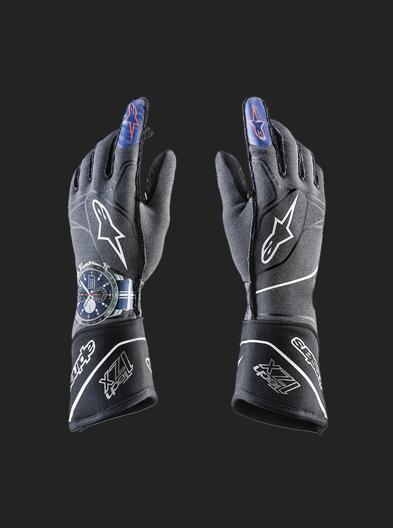 The Pier76 Collaboration Tech 1-ZX Gloves by Alpinestars for Classic Car Club