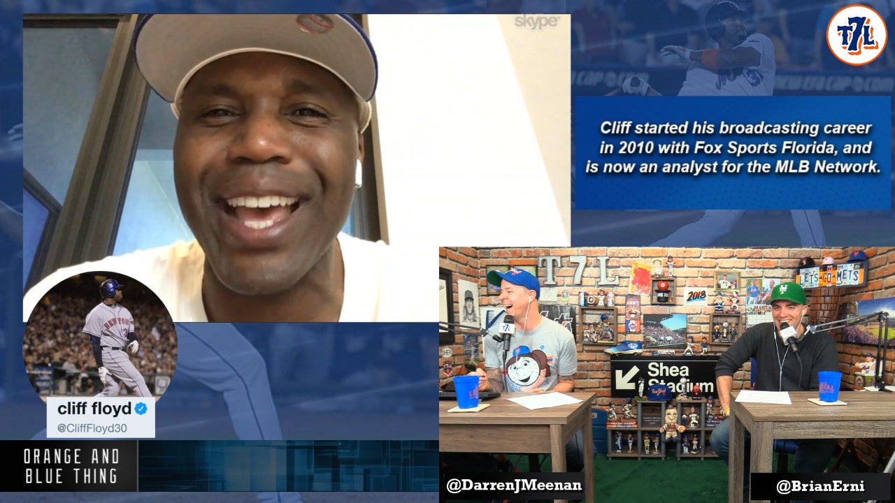 051ccd3b0fc OABT S2 E11  Cliff Floyd joins the boys. Mets talk and more.