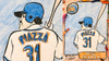 ART CLASS WITH HERM! EPISODE 26: MIKE PIAZZA BASEBALL CARD