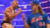 Do you smell that? The Rock is down with Noah Syndergaard.