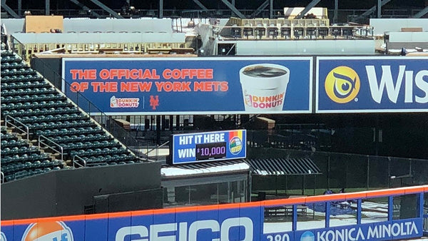 Mets partner with the New York Lottery