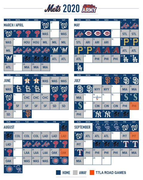 The 7 Line Army's 2020 Away Games