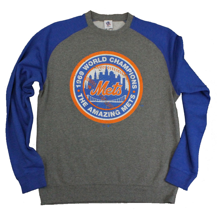 watch 3a420 bf9d0 1969 AMAZING METS crew neck
