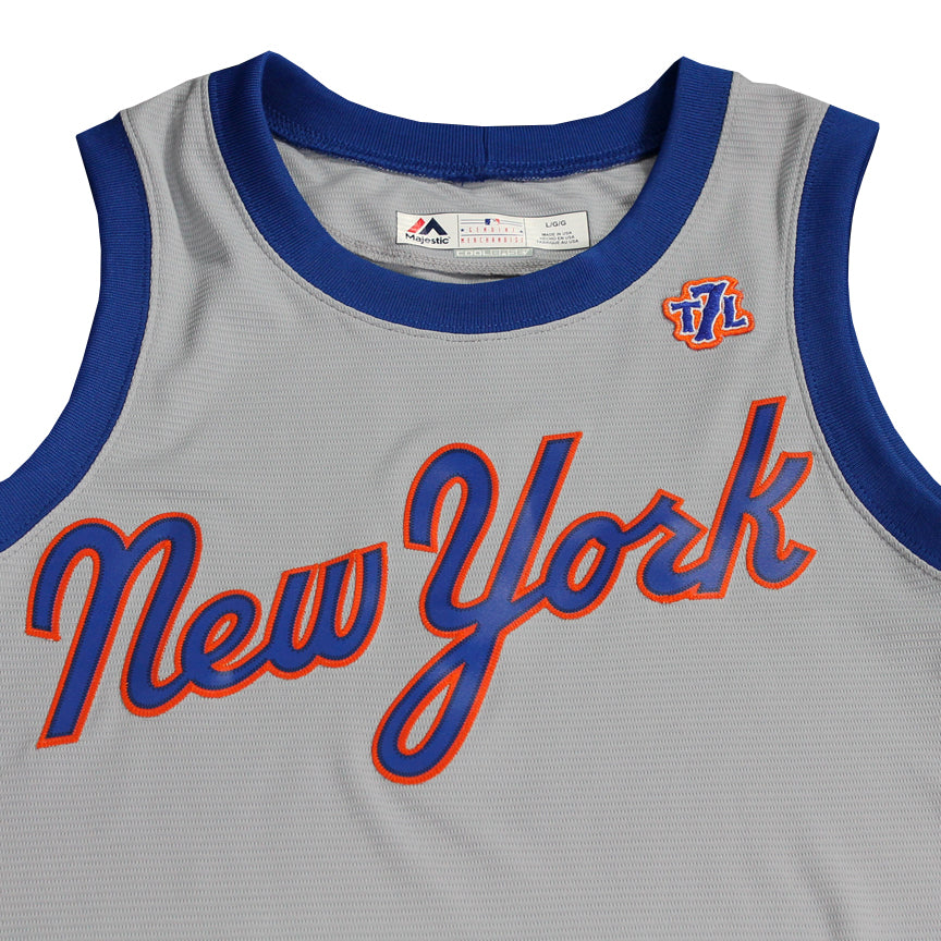 a21395033aaeec 1987 Mets Cool Base® Basketball Jersey - The 7 Line - For Mets fans