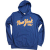 1987 Heather Blue Hoodie - The 7 Line - For Mets fans, by Mets fans. An independently owned clothing/lifestyle brand supporting the Mets players and their fans.
