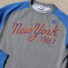 1987 crew neck - The 7 Line - For Mets fans, by Mets fans. An independently owned clothing/lifestyle brand supporting the Mets players and their fans.