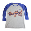 1987 womens (3/4 sleeve) - The 7 Line - For Mets fans, by Mets fans. An independently owned clothing/lifestyle brand supporting the Mets players and their fans.