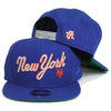 1987 Mets (ROYAL) - New Era Snapback - The 7 Line - For Mets fans, by Mets fans. An independently owned clothing/lifestyle brand supporting the Mets players and their fans. Mets t-shirts, hats, tickets and more.