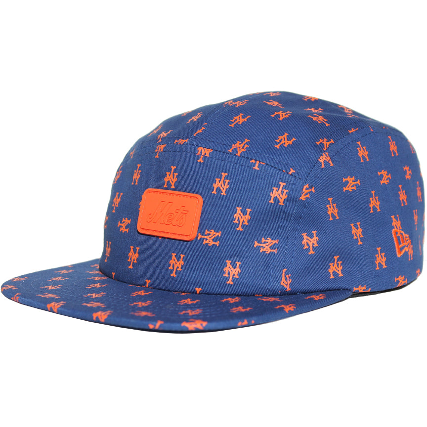 63349cfe71434 NY Mets Repeater - New Era 5 Panel Camper - The 7 Line - For Mets