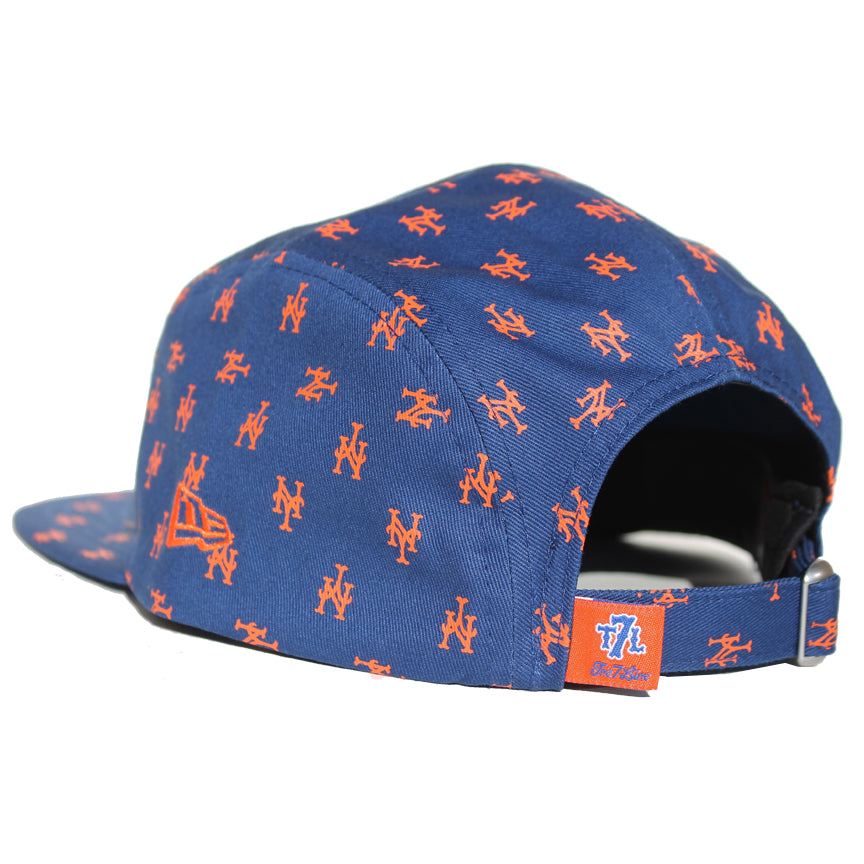NY Mets Repeater - New Era 5 Panel Camper - The 7 Line - For Mets f3f2eb51c8