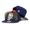 Camo Mr Met - New Era Snapback - The 7 Line - For Mets fans, by Mets fans. An independently owned clothing/lifestyle brand supporting the Mets players and their fans.