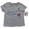 Toddler: Daddy Dressed Me T-SHIRT (grey) - The 7 Line - For Mets fans, by Mets fans. An independently owned clothing/lifestyle brand supporting the Mets players and their fans. Mets t-shirts, hats, tickets and more.