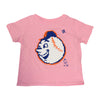 KIDS: Emoji Mr. Met T-SHIRT (PINK) - The 7 Line - For Mets fans, by Mets fans. An independently owned clothing/lifestyle brand supporting the Mets players and their fans.
