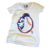 Emoji Mr. Met (women's) - The 7 Line - For Mets fans, by Mets fans. An independently owned clothing/lifestyle brand supporting the Mets players and their fans.