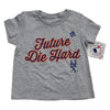 KIDS: Future Die Hard T-SHIRT (grey) - The 7 Line - For Mets fans, by Mets fans. An independently owned clothing/lifestyle brand supporting the Mets players and their fans.