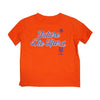 KIDS: Future Die Hard T-SHIRT (orange) - The 7 Line - For Mets fans, by Mets fans. An independently owned clothing/lifestyle brand supporting the Mets players and their fans.
