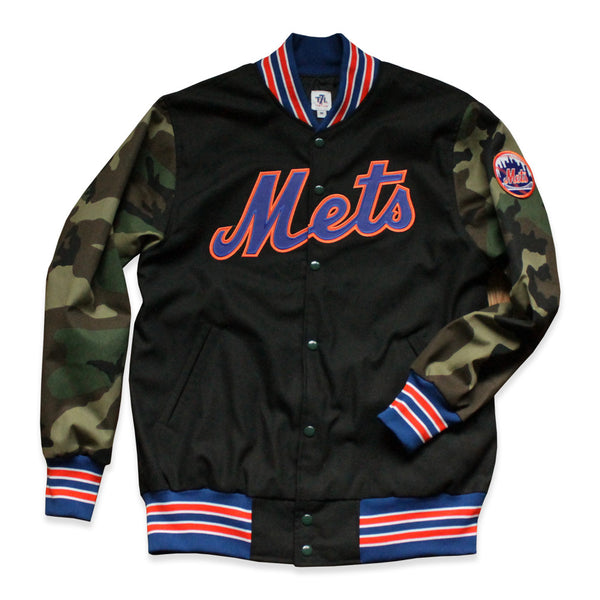 "New York Mets ""Roosevelt"" jacket (Camo/Black)"