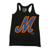 MLogo (black) - Ladies Tank - The 7 Line - For Mets fans, by Mets fans. An independently owned clothing/lifestyle brand supporting the Mets players and their fans.