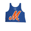 M Logo - Ladies Tank - The 7 Line - For Mets fans, by Mets fans. An independently owned clothing/lifestyle brand supporting the Mets players and their fans.