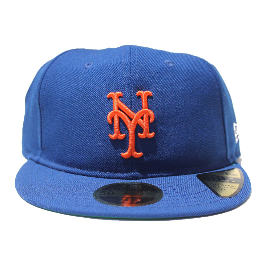 5c54f554795e6 Mets MLB Retro Low Crown 59FIFTY Cap - The 7 Line - For Mets fans