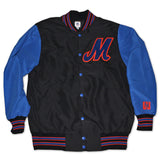 M Logo jacket (black/royal)