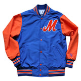 M Logo Jacket (blue/orange)