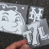 Mr Met decal set - The 7 Line - For Mets fans, by Mets fans. An independently owned clothing/lifestyle brand supporting the Mets players and their fans.