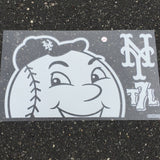 Mr Met decal set
