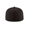 "Mets MLB Authentic ""BLACKOUT"" 59FIFTY Cap - The 7 Line - For Mets fans, by Mets fans. An independently owned clothing/lifestyle brand supporting the Mets players and their fans."