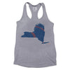 NY ladies tank - The 7 Line - For Mets fans, by Mets fans. An independently owned clothing/lifestyle brand supporting the Mets players and their fans.