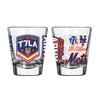 The 7 Line x Mets 2oz Shot Glass - The 7 Line - For Mets fans, by Mets fans. An independently owned clothing/lifestyle brand supporting the Mets players and their fans.