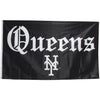 Straight Outta Queens flag - The 7 Line - For Mets fans, by Mets fans. An independently owned clothing/lifestyle brand supporting the Mets players and their fans.