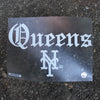 DECAL: Straight Outta Queens - The 7 Line - For Mets fans, by Mets fans. An independently owned clothing/lifestyle brand supporting the Mets players and their fans.