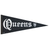 Straight Outta Queens PENNANT - The 7 Line - For Mets fans, by Mets fans. An independently owned clothing/lifestyle brand supporting the Mets players and their fans.