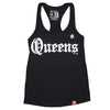 Straight Outta Queens (ladies tank top) - The 7 Line - For Mets fans, by Mets fans. An independently owned clothing/lifestyle brand supporting the Mets players and their fans.