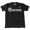 Straight Outta Queens (t-shirt) - The 7 Line - For Mets fans, by Mets fans. An independently owned clothing/lifestyle brand supporting the Mets players and their fans.
