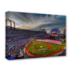 Mets Citi Field Opening Day 2009 Canvas Print - The 7 Line - For Mets fans, by Mets fans. An independently owned clothing/lifestyle brand supporting the Mets players and their fans.