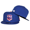 T7LA (Royal) - New Era fitted - The 7 Line - For Mets fans, by Mets fans. An independently owned clothing/lifestyle brand supporting the Mets players and their fans.