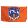 T7LA flag (Orange) - The 7 Line - For Mets fans, by Mets fans. An independently owned clothing/lifestyle brand supporting the Mets players and their fans.