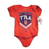 T7LA onesie - The 7 Line - For Mets fans, by Mets fans. An independently owned clothing/lifestyle brand supporting the Mets players and their fans. Mets t-shirts, hats, tickets and more.